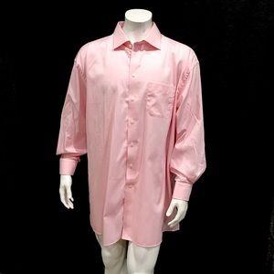 Eton Mens Pink Dress Shirt